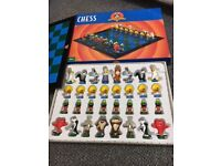Looney Tunes Chess Set. Unused so in Excellent condition. Proceeds to charity.