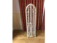 Vintage Style Wrought Iron 32 bottle Wine Rack