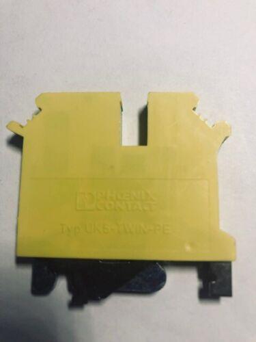 Phoenix Contact 3031322 ST 2,5-QUATTRO-PE Green/Yellow Polyamide Ground Terminal