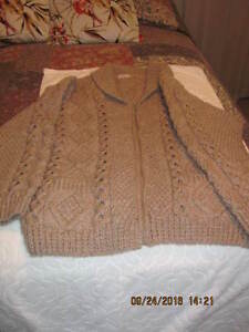 Mans beautifully Hand-Knitted Sweater