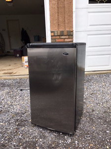 Sanyo Stainless Steel Mini Beer Fridge