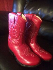 Red Toddler Cowboy or Cowgirl Boots Never Worn