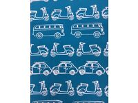 John Lewis Beetle, Camper and Scooter curtains | 165cm x 177cm per curtain