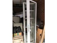 Tall Server Cabinet for sail. Front and back door removable. Lockable.