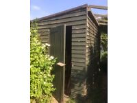 shed for sale- 10.5 x 7.5 foot, will need dismantling, from Marston