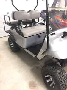 2007 ez go golf cart /4 seater /lifted London Ontario image 7