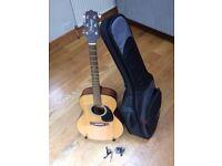 Acoustic guitar set, Takamine G series.