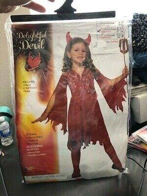 Devil Costume Child (Delightful Devil Child Girls Costume)