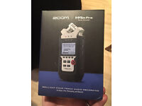 Zoom H4n Pro Four Track digital audio recorder- Brand New, Unopened
