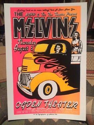 MELVINS - OGDEN Theater (DENVER, CO) AUG. 8, 1996 - Cryptographics POSTER ed. 50