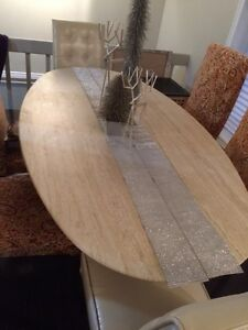 Travertine Dining Room Table