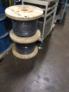 2 Reels of 4/0 Flex Power Cable
