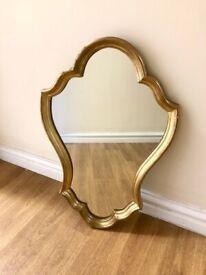 Gold Coloured Mirror