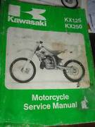 KAWASAKI KX250  KX125  MOTORCYCLE WORKSHOP SERVICE MANUAL c1994 Perth Perth City Area Preview