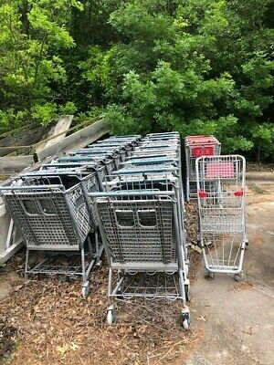 Used Grocery Carts-28 Carts