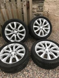 """Rangerover Sport Alloys & tyres 20"""" - winter tyres"""