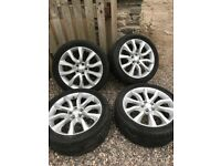 "Rangerover Sport Alloys & tyres 20"" - winter tyres"
