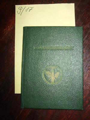 Handwerkskarte der Handwerkskammer Sachsen 1953,Bäcker-Ausweis,DDR-Dokumente,rar