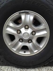 Land Cruiser  4 x 16 inch alloy wheels and near new mud tyres Tweed Heads Tweed Heads Area Preview