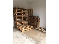 WOODEN PALLETS - VARIOUS SIZES