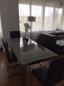 4.5 fully furnished all inclusive/4.5 meubler clés en main