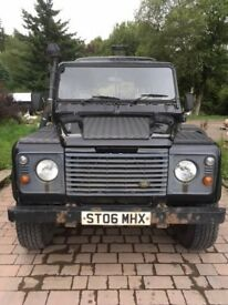 Landrover Defender 130 double cab pickup