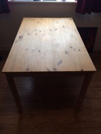 4ft Wooden Table