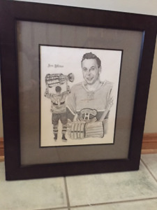 JEAN BELIVEAU, LIMITED EDITION PRINT