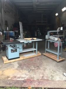 Shop cabinets , tool chest, and many tools Rochwell/Delta