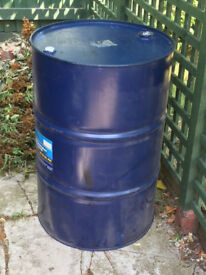 Oil Drum, heavy duty, 40 gallon, very good condition