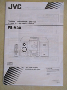 JVC Compact Component Stereo System