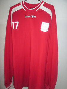 Rushden-and-Diamonds-2007-2009-Match-Worn-Trainin-Football-Shirt-xxl-21071