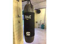 Everlast C3 Foam Heavy Punch Bag and wall bracket