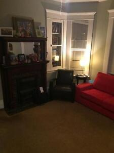For Sublet - One Large 1 bdrm  Downtown $990 inc May1-Aug 31