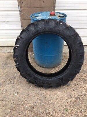 Four New 8.3x24 8.3-24 Tt Cub Farmall 8 Ply Tractor Tires