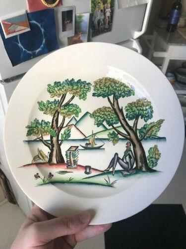 Guido Andlovitz for Lavenia art deco plate