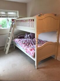 ASPACE Jill Bunk Bed - Antique White