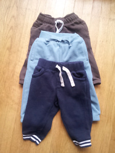 3 pairs of Gymboree Boys Pants, 12-18 month