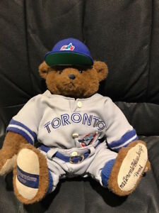 Toronto Blue Jays Bear - Collectors Item 144 of 2,500 ever made.