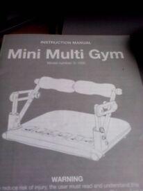 Home portable mini multi gym