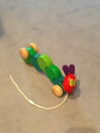 Very hungry caterpillar £10 Wooden toy box £5.00