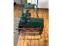 Atco Commodore B20 Lawn Mower with Grass Box. Overhauled