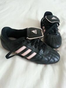Girl's Adidas soccer shoes size 2