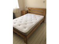 Warren Evans double mattress, barely used