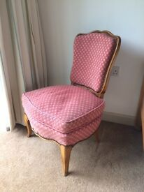 Small French chair