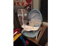 Blue Baby Rocker chair