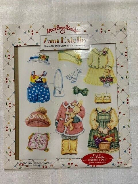 Mary Engelbreit Ann Estelle Magnetic Dress Up Doll Clothes New IN Package