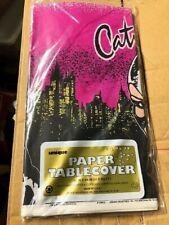 Vintage 1992 BATMAN RETURNS Catwoman Michelle Pfeiffer Partie Nappe 3 Packs