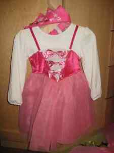 TODDLER GIRLS PRINCESS COSTUME DRESS 18-24 MTHS