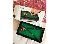 Mini pool table for sale